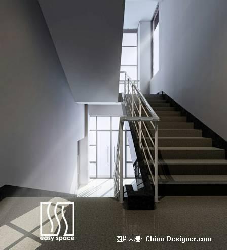 楼梯间-一水空间设计有限公司的设计师家园-住宅公寓