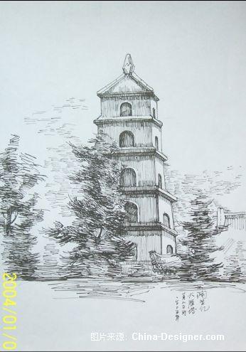 建筑速写-陶贤亿的设计师家园-住宅公寓