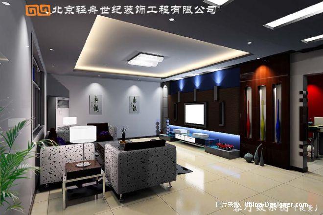 复式客厅-严晋的设计师家园-住宅公寓