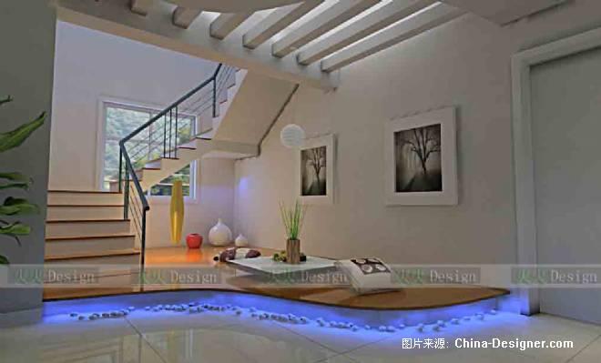 楼梯间-陈新建的设计师家园-住宅公寓