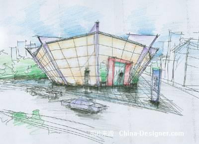 《售楼处》-设计师:赵忆风.设计师家园-忆风设计-#与