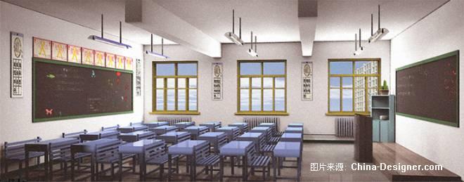 初中的教室-管培文的设计师家园-学校