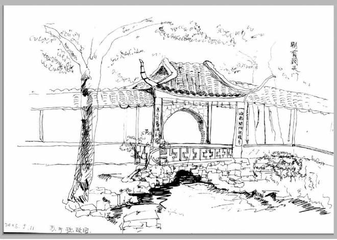 苏州园林写生-tt的设计师家园-其他