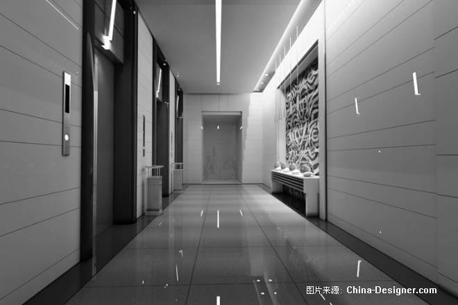 电梯前室-申时平的设计师家园-住宅公寓
