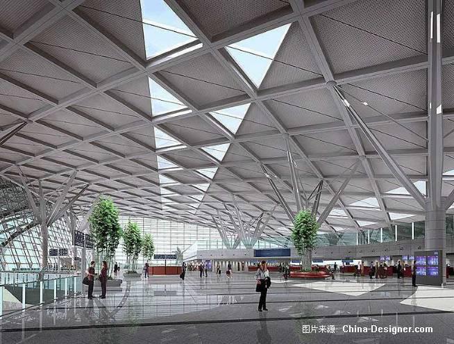 郑州机场扩建大厅-小鱼的设计师家园-机场车船站