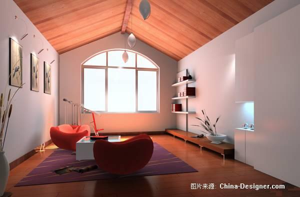 日照某家庭阁楼设计方案-凌荐的设计师家园-住宅公寓