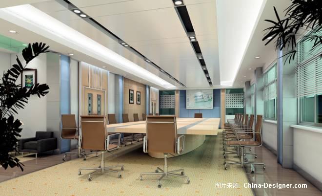 淄博某学校会议室设计方案-凌荐的设计师家园-学校图片