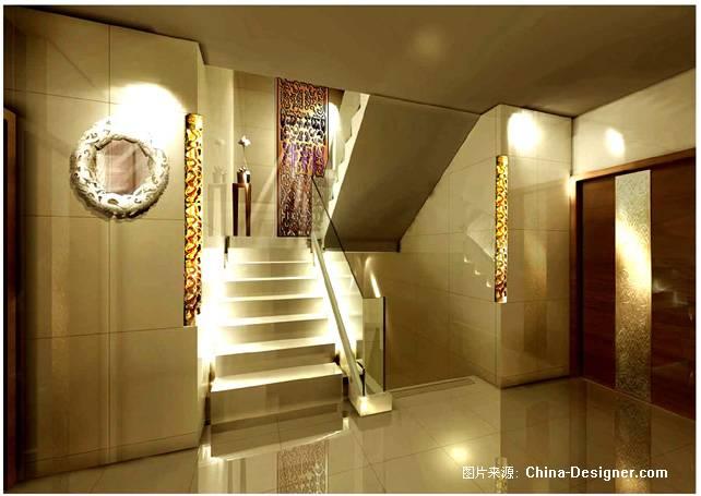 楼梯间楼梯间-ren的设计师家园-住宅公寓