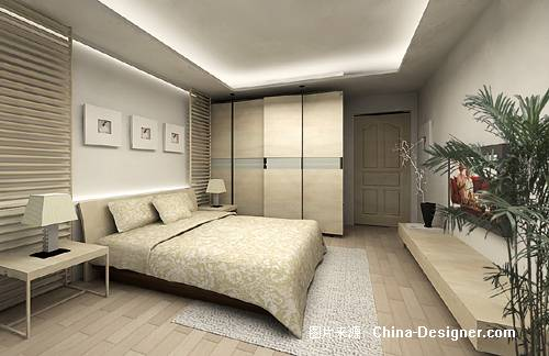主人房设计.-吴建文的设计师家园-住宅公寓