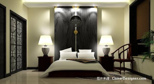 月亮圆卧室.-扬州市建佳室内装饰装潢有限公司的设计师家园-住宅公寓