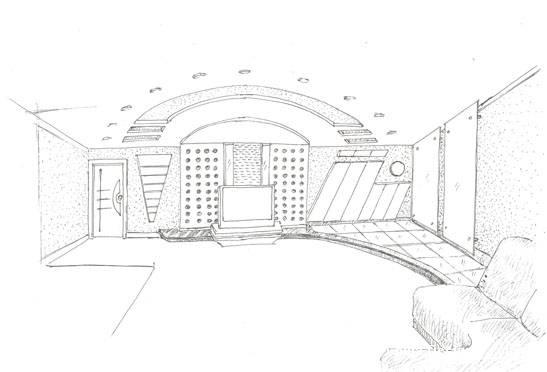 园林建筑透视图(图以茶室为例)