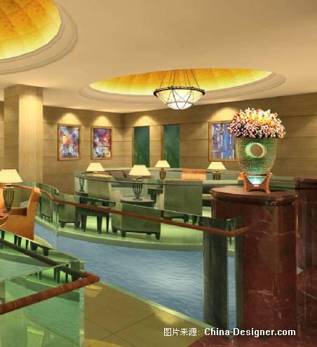 酒店大堂休息区-黄胜东的设计师家园-商场