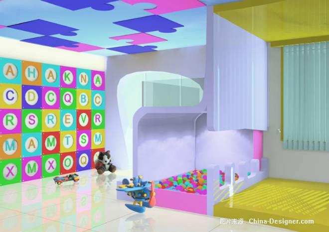 七巧板幼儿园-屈飞婧的设计师家园-学校