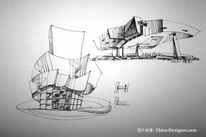 室外建筑写生-年江的设计师家园-其他