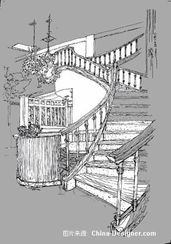 《室内一角,拐角》-设计师:郭生