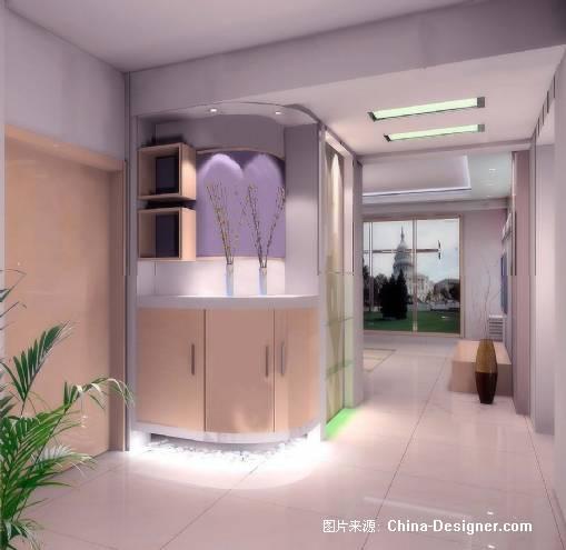 转角鞋柜的道路-蒋威的设计师家园-住宅公寓