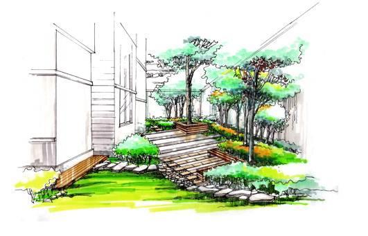 九溪徐宅庭院景观设计-程琳的设计师家园-别墅