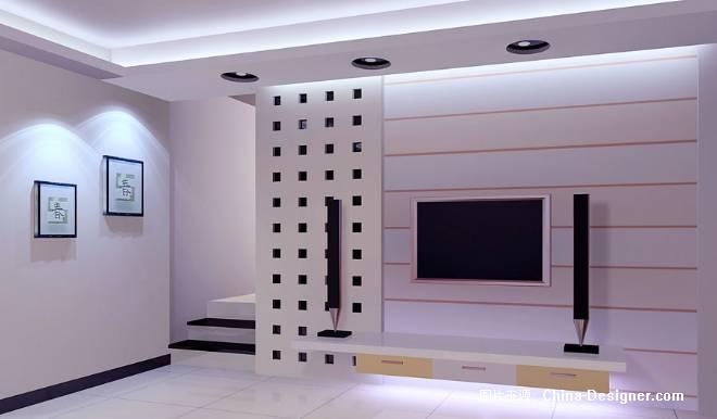 江东兴衡花苑电视幕墙-衡阳市万家福装饰的设计师家园-住宅公寓