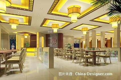 大学教工餐厅-张伟的设计师家园-餐饮酒吧