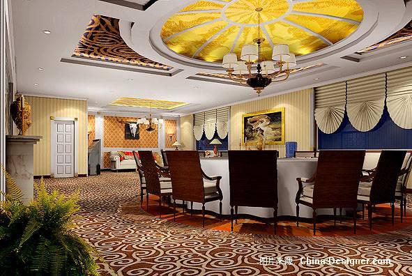 欧式雅间-青的设计师家园-餐饮酒吧图片
