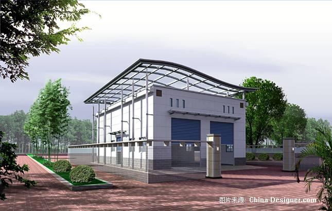 《建筑外观》-设计师:万青.设计师家园-深圳文业装饰