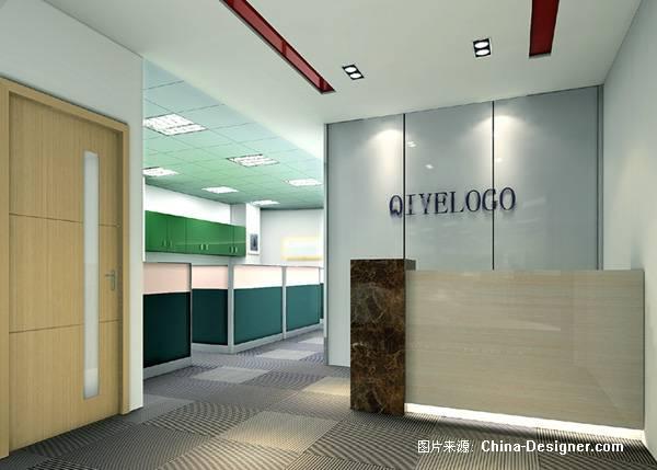 办公室的前台-朱鸿巍的设计师家园-办公楼