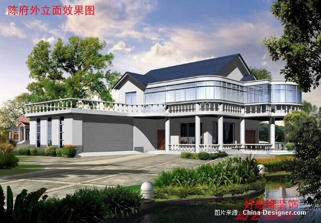 别墅外立面改造-钱明的设计师家园-别墅