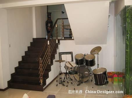 楼梯间-曾伟的设计师家园-住宅公寓