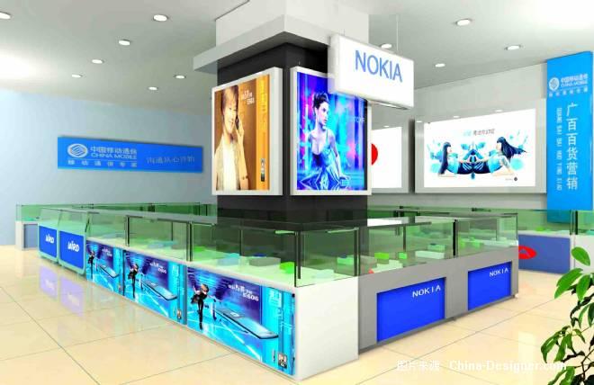 广百手机柜子-鲟的设计师家园-商场