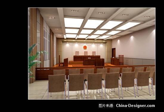 郭涛的设计师家园-室内设计,效果图,装修; 《模拟法庭》-设计师:郭涛