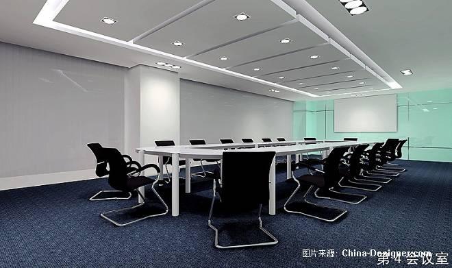中国电信海南分公司滨海办公楼会议室改造设计-林海的设计师家园-办公