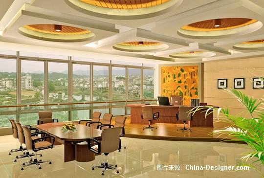 总裁办公室-杜晓宁的设计师家园-办公楼