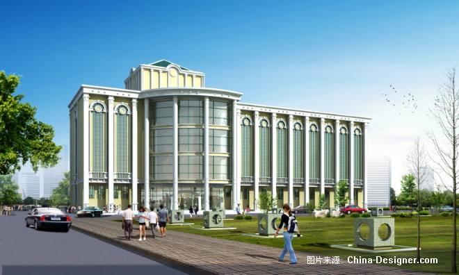欧式办公楼-王凌浪的设计师家园-效果图图片