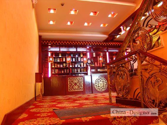 银海酒楼装修设计-天地方圆曲直的设计师家园-办公区,新中式,灰色图片
