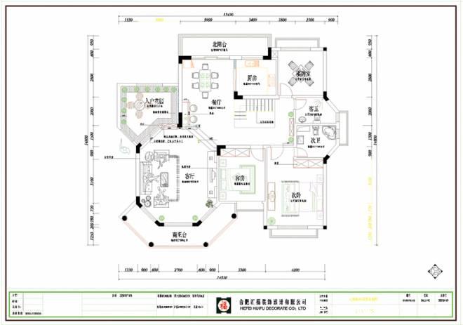 铜陵市白鹤家园平面图