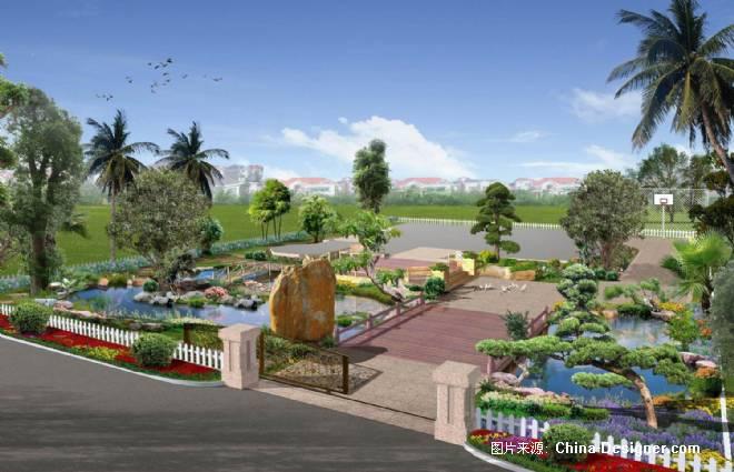 碧桂园46-1型别墅园林-庞科的设计师家园-50-100万