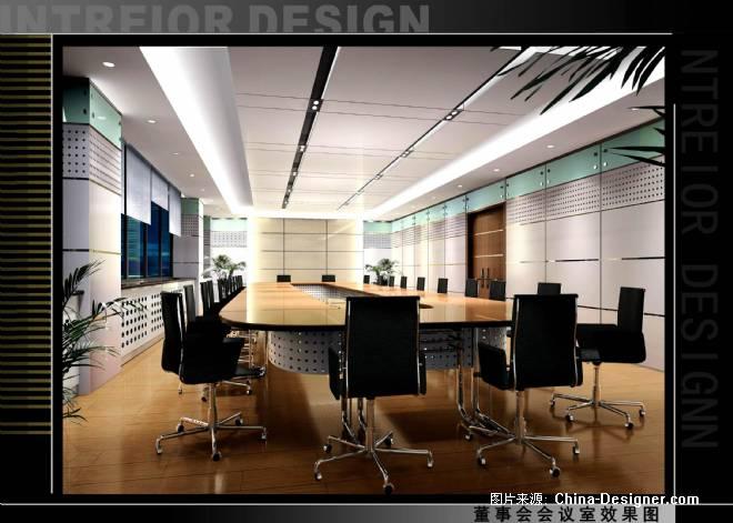 特伦集团办公楼装修工程-张民权的设计师家园-办公室,沉稳,欧式,现代