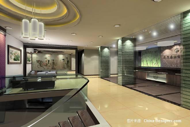 中山古镇绿洲桑拿城-尊璜室内设计装修(广州