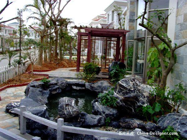阳江碧桂园别墅花园设 广州市英德园艺景观设计有限公司的设计师家园