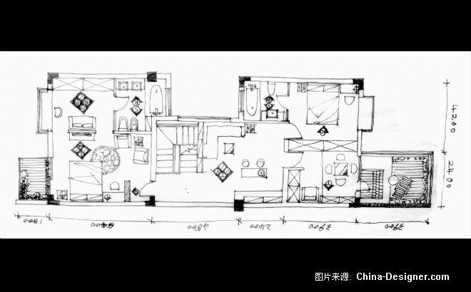 地下室平面-成都锦镇 徐玉磊的设计师家园 烟灰缸图片