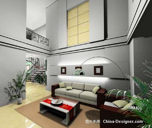 山水鉴园楼中楼又一户型-北京时尚空间装饰晋城分公司的设计师家园-10