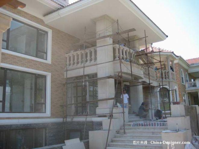 竹溪园别墅施工过程照片-马波的设计师家园-新古典