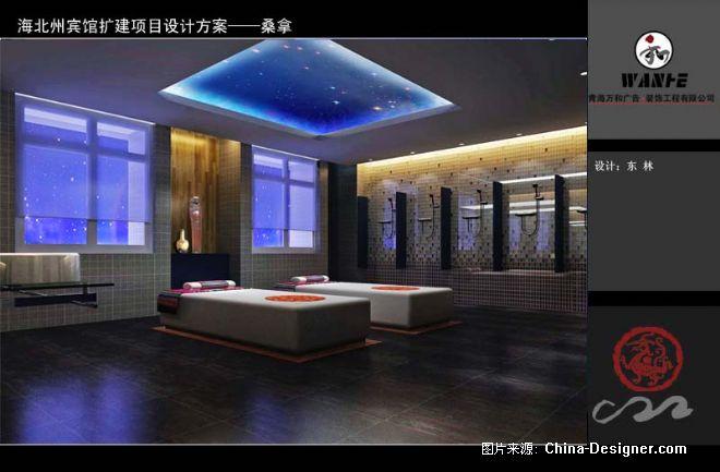 海北州宾馆扩建项目-东林的设计师家园-现代藏式设计风格图片