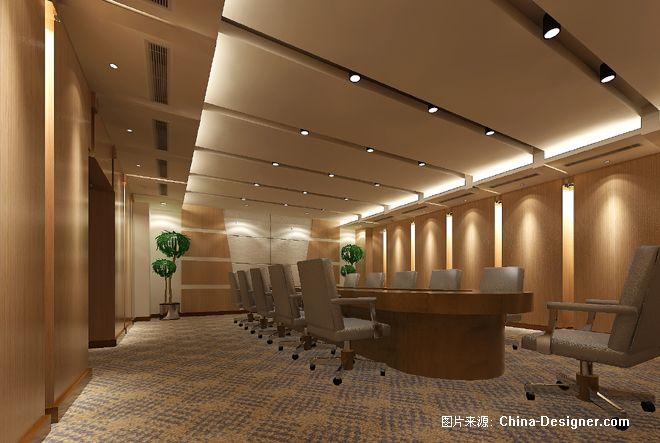 上海市高级人民法院-会议室效果-孙崇友的设计师家园-中式图片
