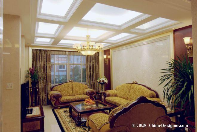设计※景元花园-祝建深的设计师家园-现代,沉稳,古典欧式,联排别墅,5