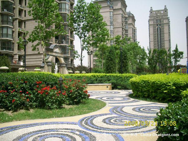 珠江帝景室外景观-北京雅木居园林景观设计工程有限公司的设计师家园图片