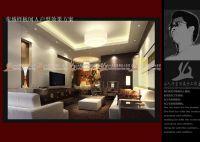 设计师家园-三套不同风格的样板间