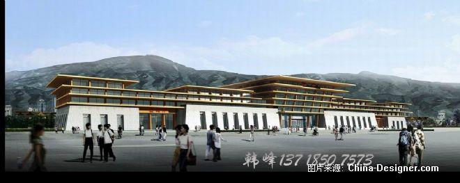 西宁火车站-韩峰 北图建筑表现,动画多媒体的设计师家园-现代