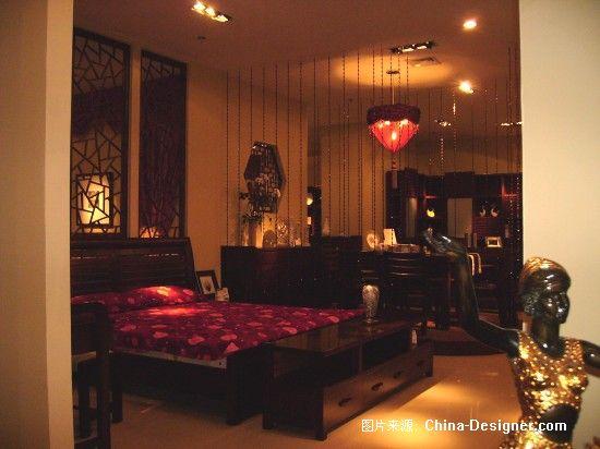 浅水半岛-陈娇的设计师家园-样板间,10-20万,三居,中式