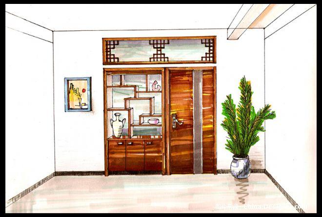手绘简图-柯老师的设计师家园:::柯老师设计空间